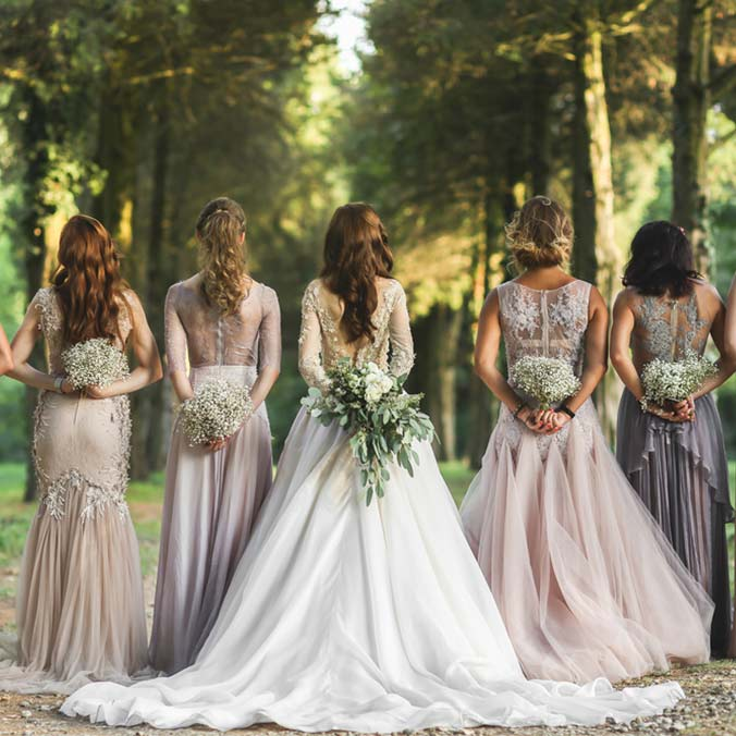 Wedding trends to look forward to in 2017 for Wedding dresses for bridesmaid