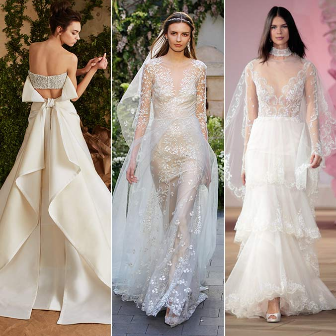 8 Hot Trends That Emerged From NYC Bridal Week