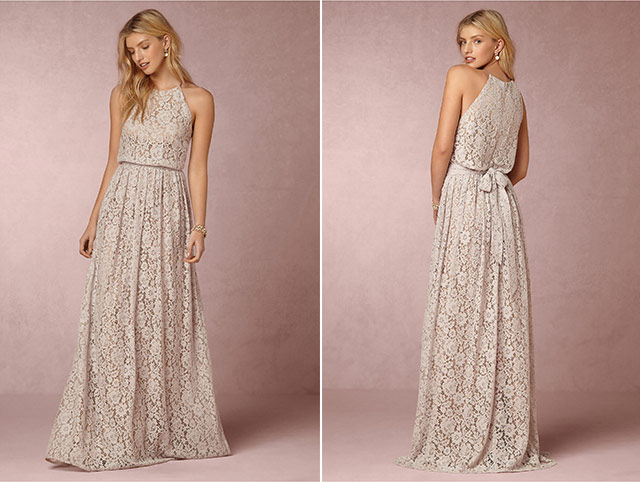 Non Traditional Bridesmaid Dresses 1