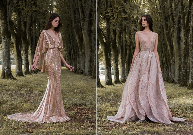 14 Evening Wear Looks to Choose from Paolo Sebastian\'s Gilded Wings ...