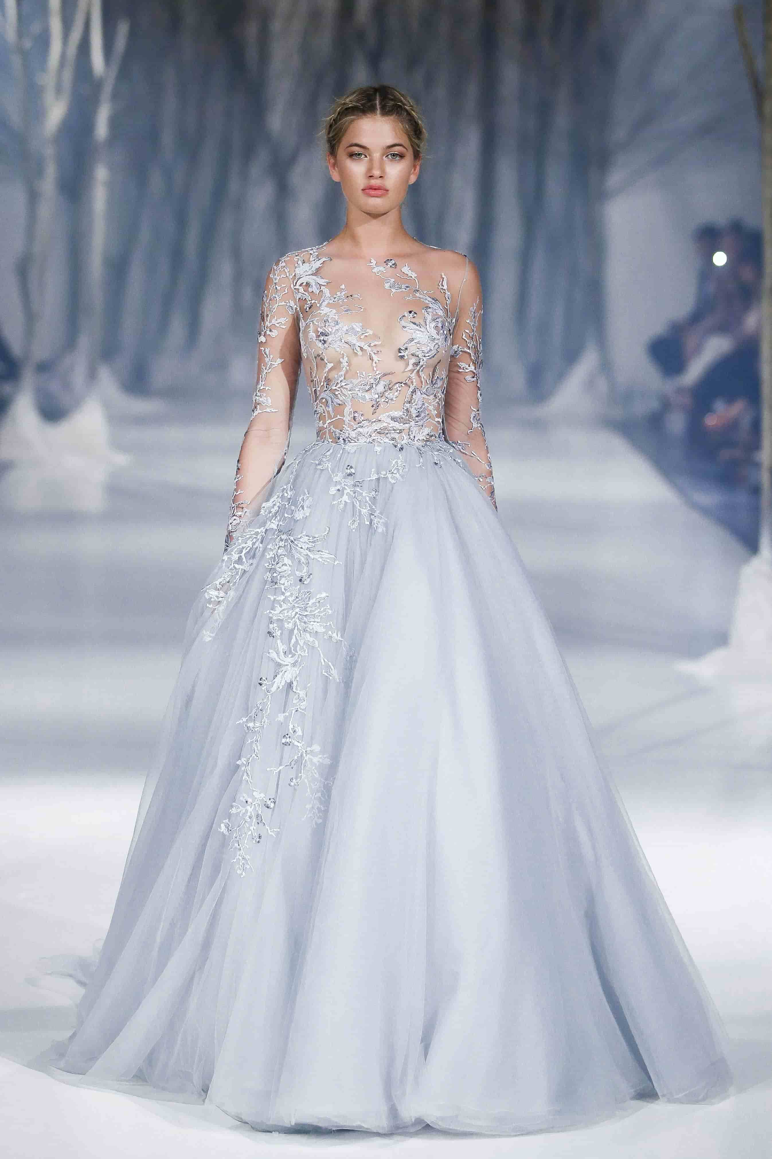 Paolo sebastian s fall winter 2016 collection reminds us for Winter style wedding dresses