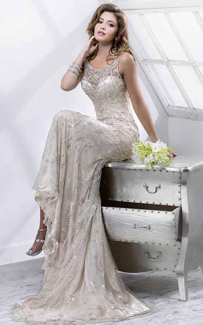 19 Silver Colored Wedding Dresses That Left Us Breathless Asia Wedding Network