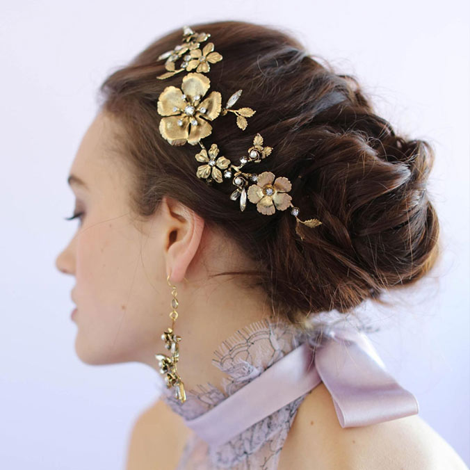 8 Breathtakingly Beautiful Hair Accessories to Complete Your Bridal Look