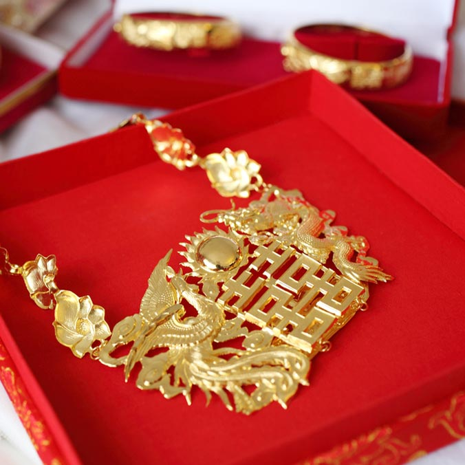 5 Tips to Make Chinese Gold Wedding Jewellery More Fashionable