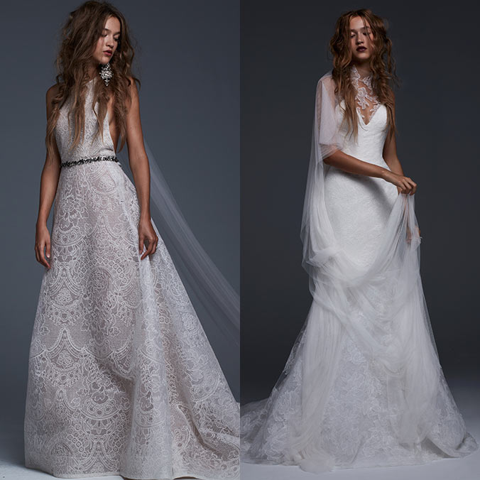 Vera Wang Fall 2017 Collection Presents Romantic Wedding Dresses Inspired by Young Love