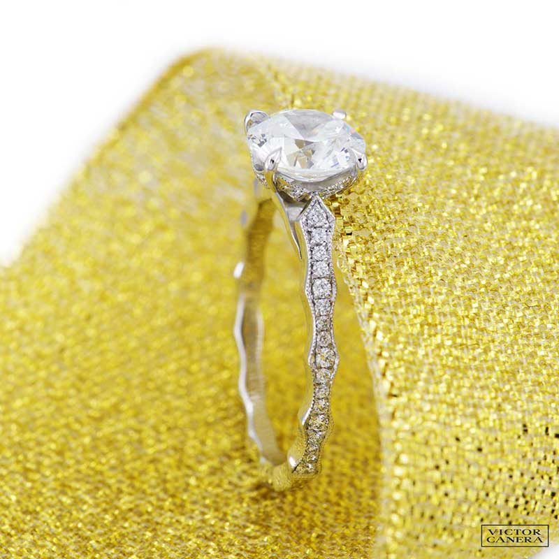 victor canera engagement diamond rings wedding band bridal jewellery 9