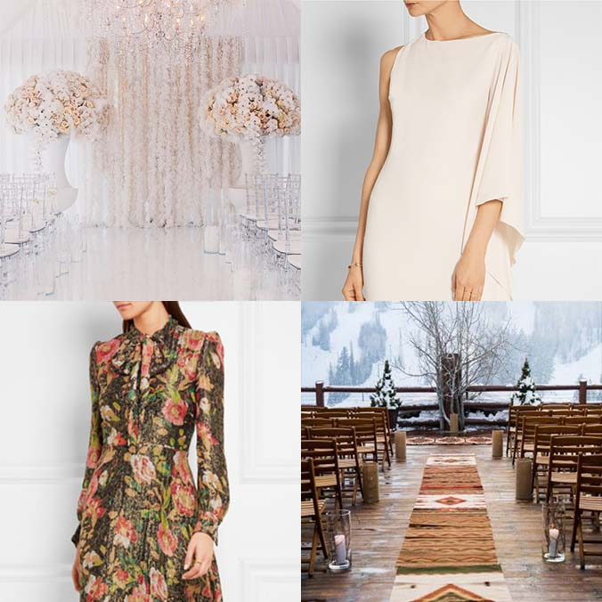 6 Fall Wedding Guest Looks for Each Type of Wedding