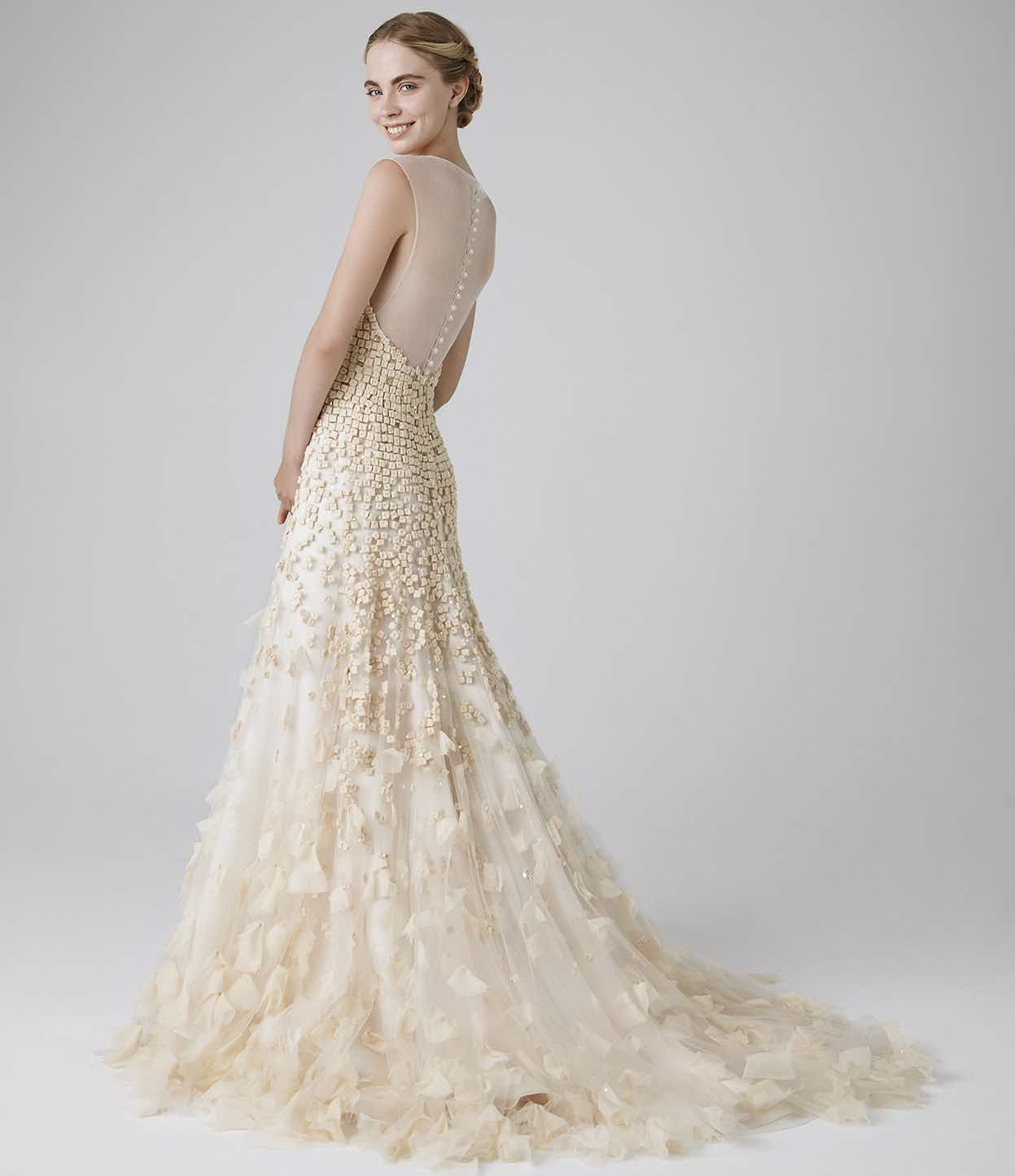 Which Wedding Dress Train Fits You Best Learn About The 6