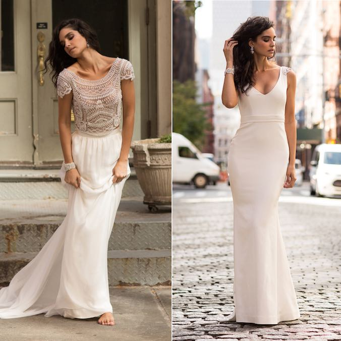 4 New Anna Campbell Dresses For Brides Who Want A Simple Yet Classically Embellished Wedding Gown