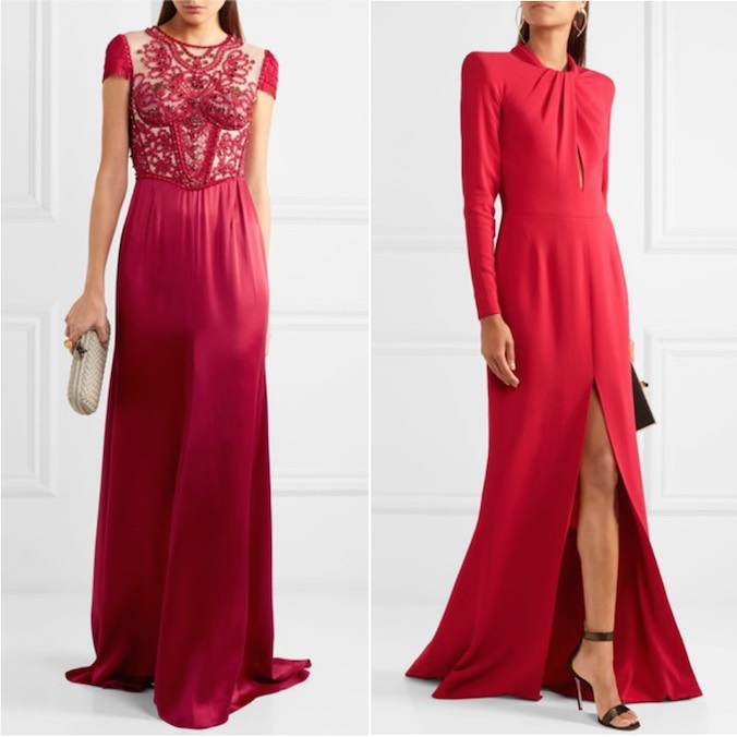 Engagement Tea Ceremony Outfit - What Do You Wear? Here's 9 Designer Dresses That Are Modern Yet Still Traditional Red