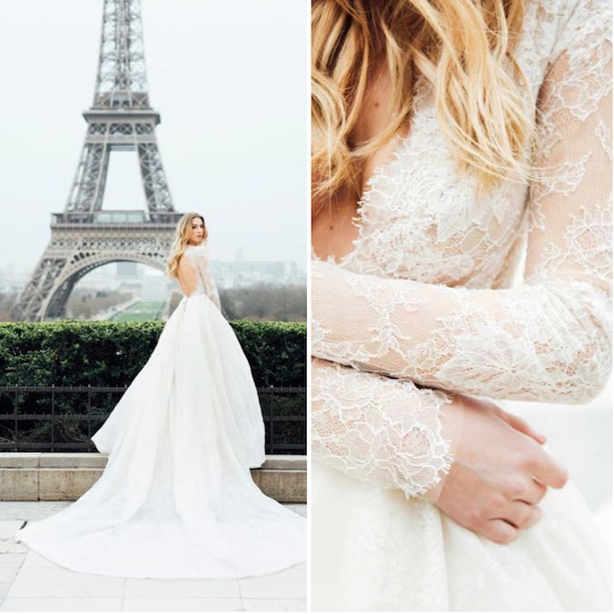 15 Things We Love About Monique Lhuillier's Wedding Dresses