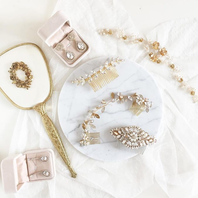 Playing With the Prettiest Bridal Accessories from Sheeta Design!