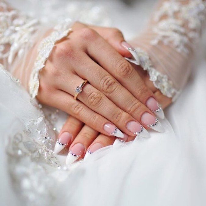 Wedding Nail Prep: 11 Need-to-Know Tips on Nail Care, Bridal Manicures, Nail Polish Designs, & More