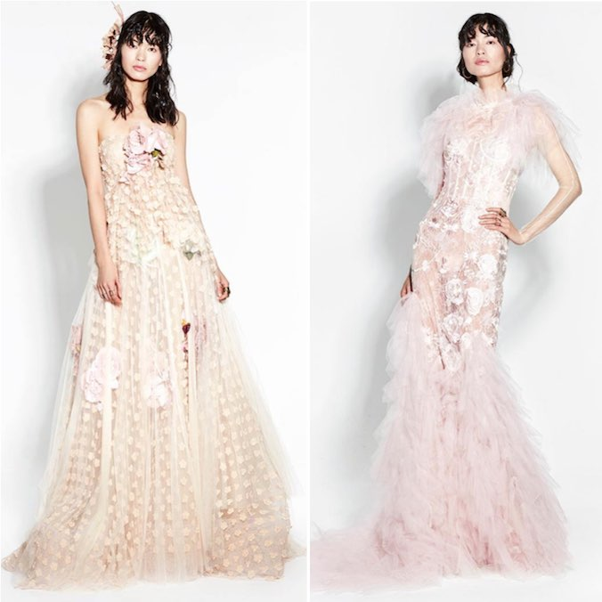 Evening Dresses for the Romantic Yet Daring Bride: YolanCris Evening Collection for Fall/Winter 2017/2018