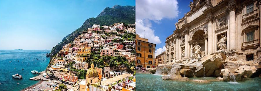 italy honeymoon pricing package