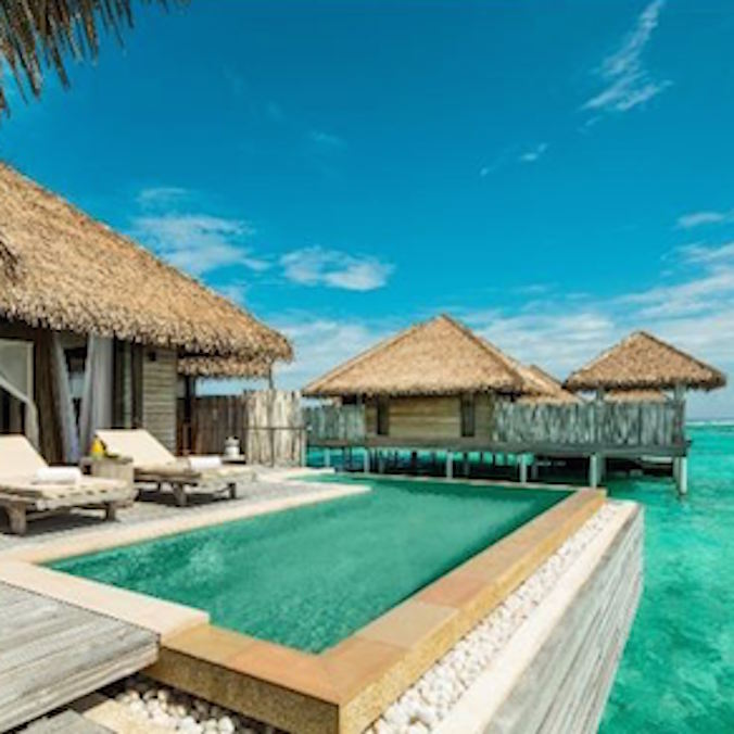 $2,500 USD ++ (per person) Maldives - 7 days (excluding flights)