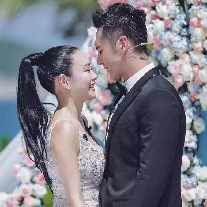 Former Miss Chinese International, Christy Chung & Chinese Actor, Shawn Zhang's Sanya Surprise Proposal