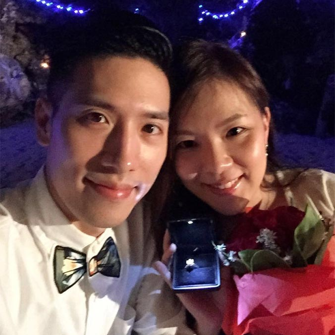 Former Miss Hong Kong 2nd Runner Up, Priscilla Chi & Calvin Yeung's Romantic Bali Proposal