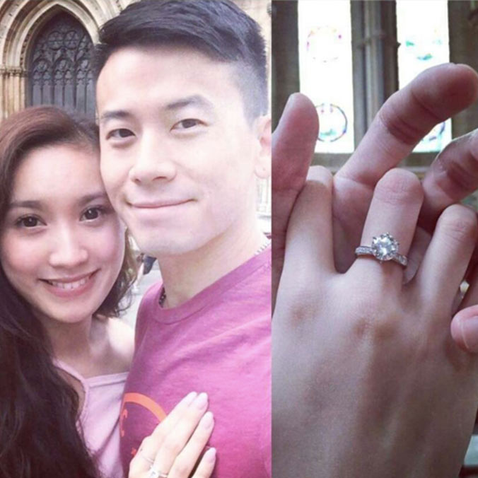 Hong Kong Actor, Sam Chan & Former Cable News Reporter, Camille Lam's Jet-Lagged Proposal