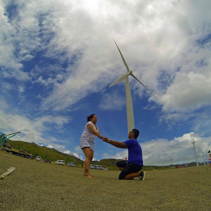 Olga & Jack's Windmill Proposal