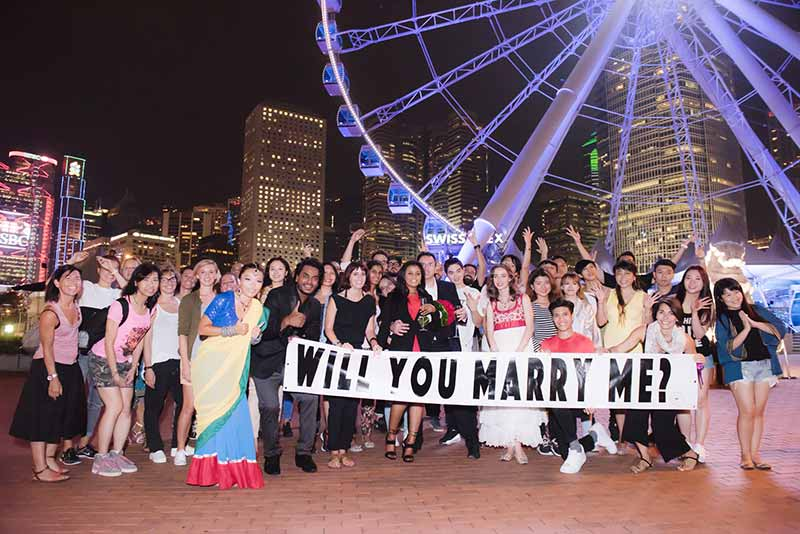 5 bollywood flashmob proposal hong kong