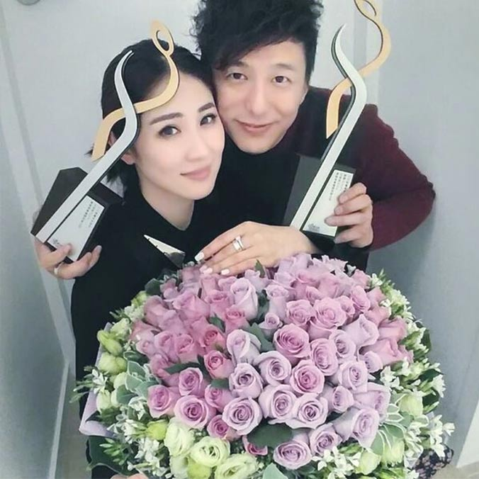 Hong Kong Singer Songwriter, Sukie Shek & Actor Singer, Patrick Tang's Award Party Proposal