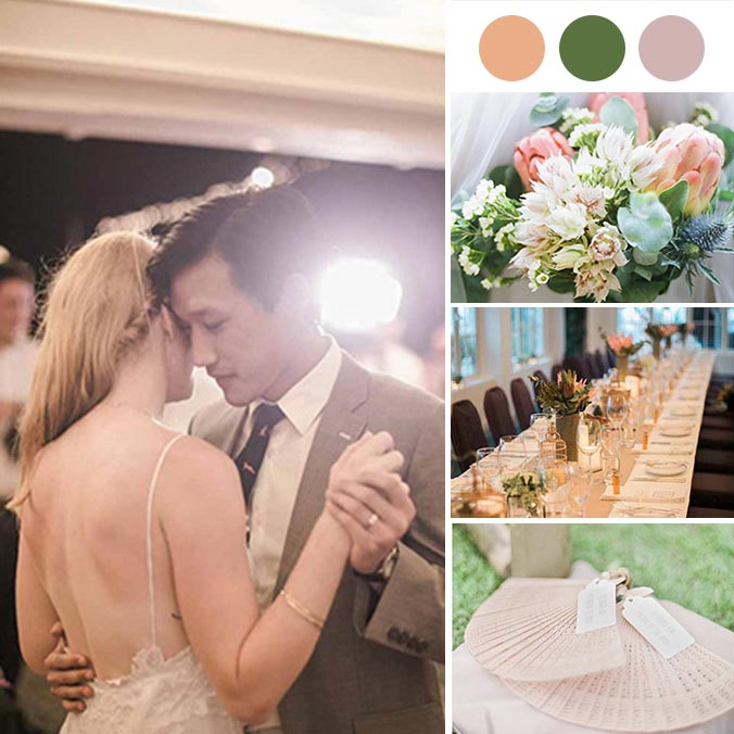 A Soft, Stylized, Outdoor Wedding That Took Place in Hong Kong