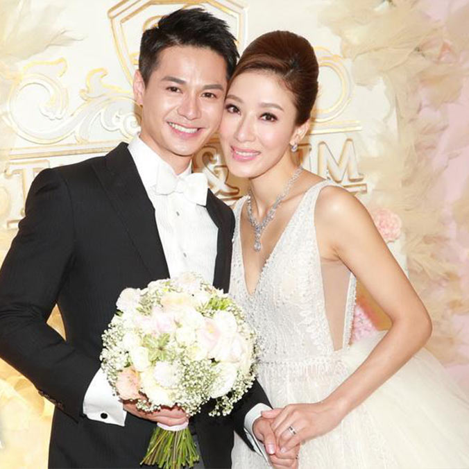 Hong Kong Actress, Tavia Yeung & Actor, Him Law at The Ritz-Carlton, Hong Kong