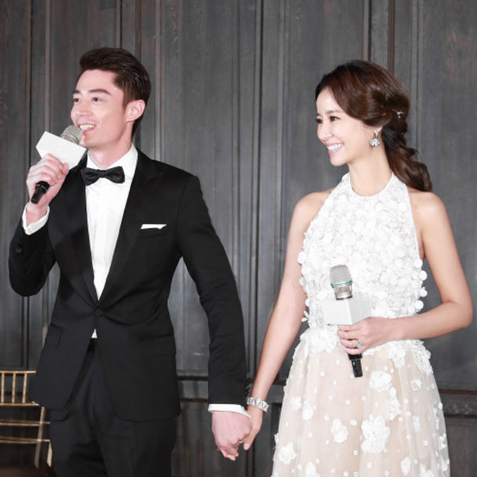 Part II: Taiwanese Actress, Ruby Lin & Actor, Wallace Huo at Palais de Chine Hotel, Taipei