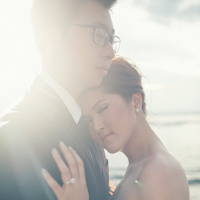 Rustic, Light Blue, Indonesian Chinese Wedding in Laid Back Bali