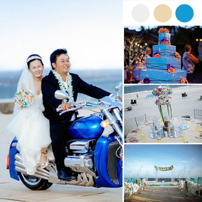 A Colorful Vietnamese Wedding with Tiffany Blue Elements