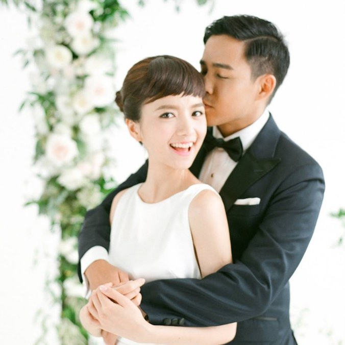All The Details Of Actress-Model, Anjaylia Chan & Epaphras Wong's Church Wedding And Reception At Intercontinental Hotel, Hong Kong