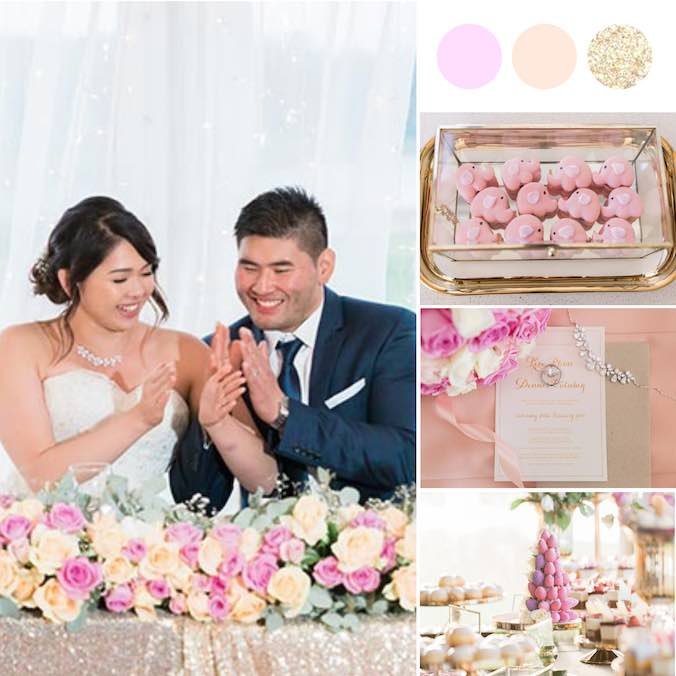 "A Relaxed Pink, ""Night Market"" Themed Wedding At Nine Dragons Horse Club"