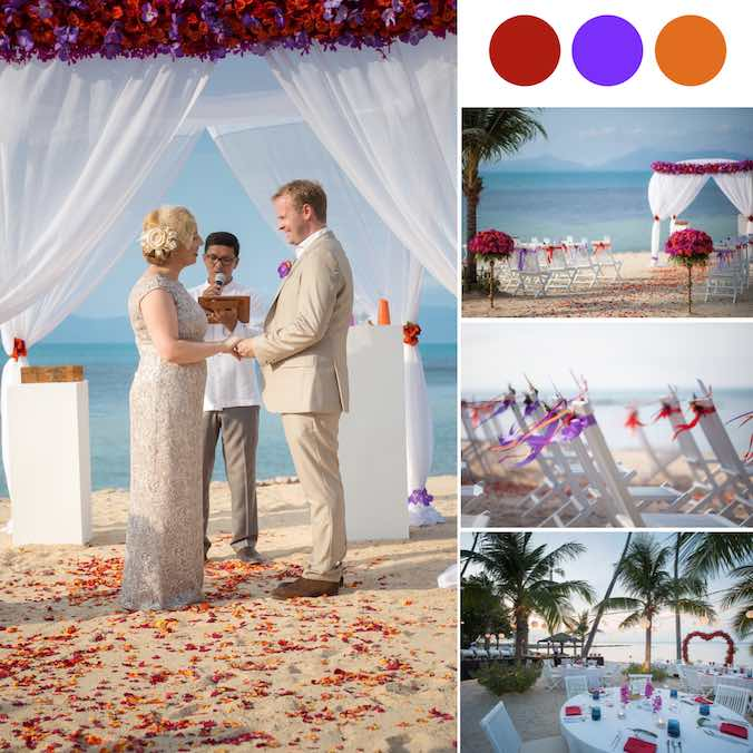 A Breathtaking On-the-Beach Wedding Planned to Perfection at Belmond Napasai Koh Samui