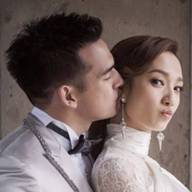 Hong Kong TVB Actress, Grace Wong & Daniel Chang's Church Wedding in New York