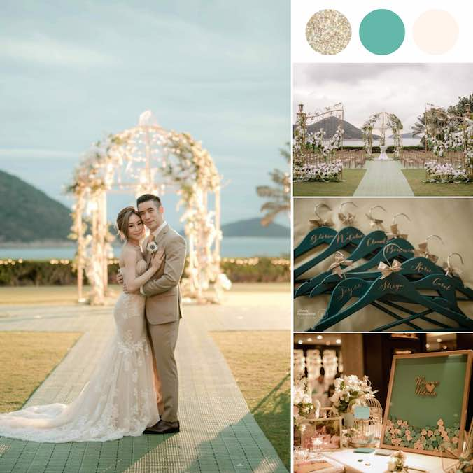 It Rained on Her Country Club Wedding - and Made it Even More Perfect!