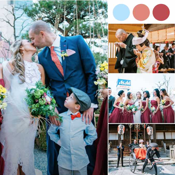 This Japanese Western-Style Multicultural Wedding Will Melt Your Heart