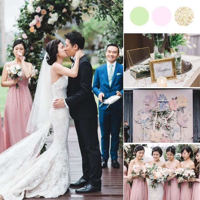 From Swiping 'Yes' on Tinder to a Lovely Outdoor Rooftop Wedding in Taipei