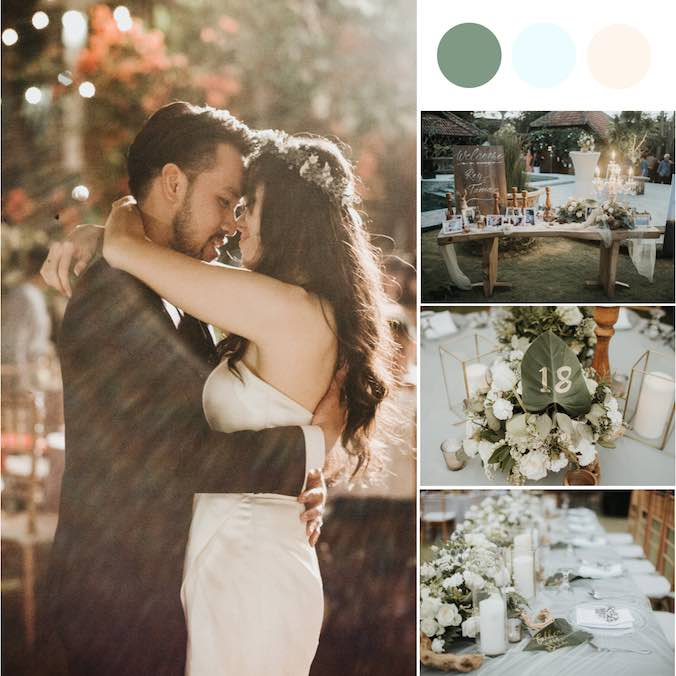 A Magical & Sophisticated Yet Very Low Key Bali Private Villa Wedding