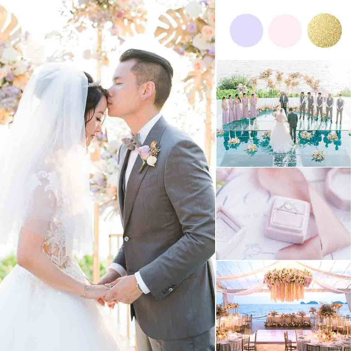 Our Founder's Breathtakingly Gorgeous 'Tropical Romance' Wedding Weekend [Conrad Koh Samui]