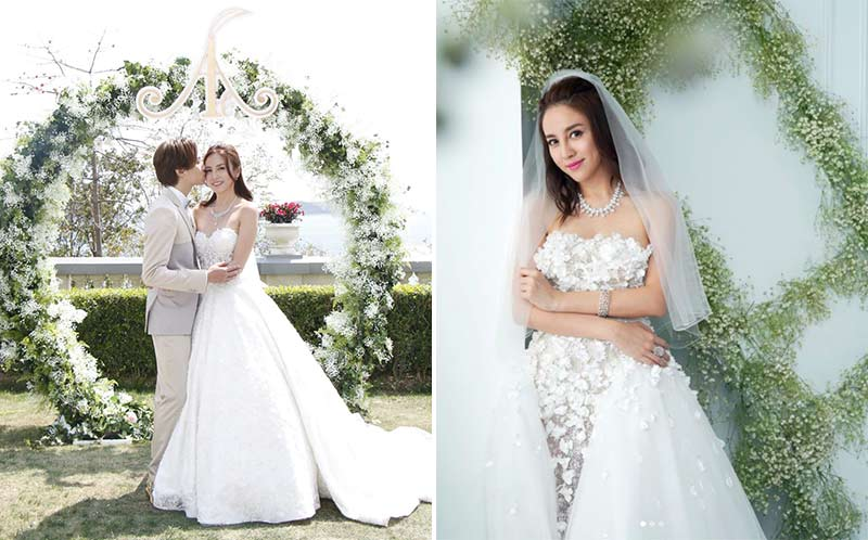 ava liu adason lo hong kong verandah repulse bay outdoor wedding dress bridal gown 2