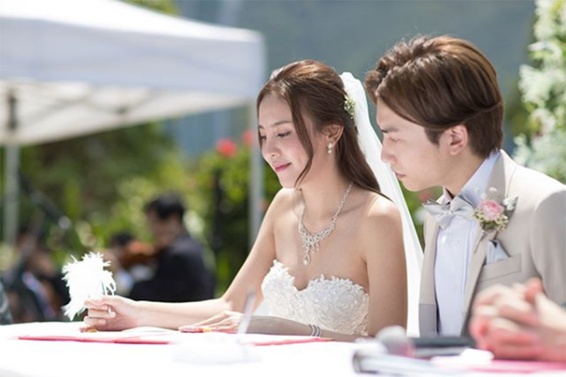 ava liu adason lo hong kong verandah repulse bay outdoor wedding venue 16