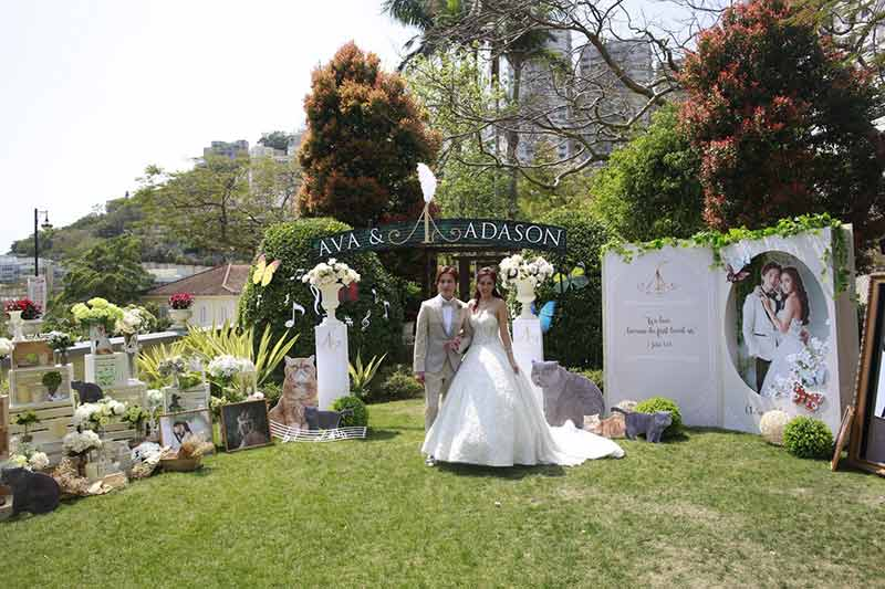 ava liu adason lo hong kong verandah repulse bay outdoor wedding venue 19