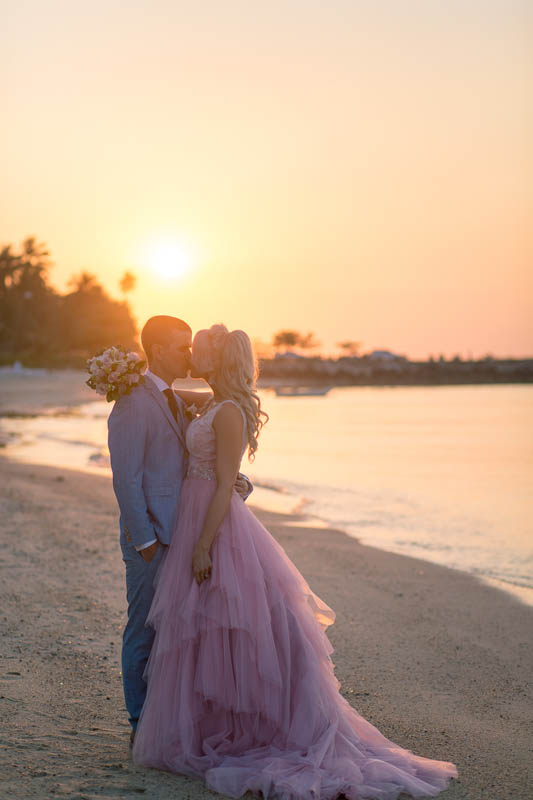 belmond napasai koh samui beach sand pink wedding package price 14
