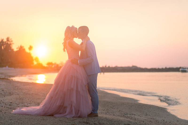 belmond napasai koh samui beach sand pink wedding package price 15