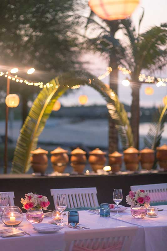 belmond napasai koh samui beach sand pink wedding package price 16