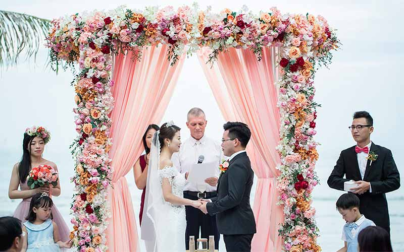 traditional modern chinese wedding phuket cape panwa 30