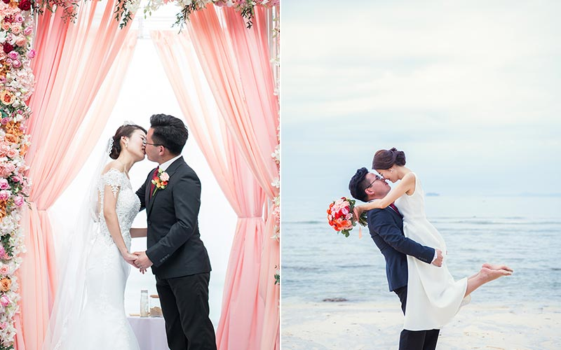 traditional modern chinese wedding phuket cape panwa 38