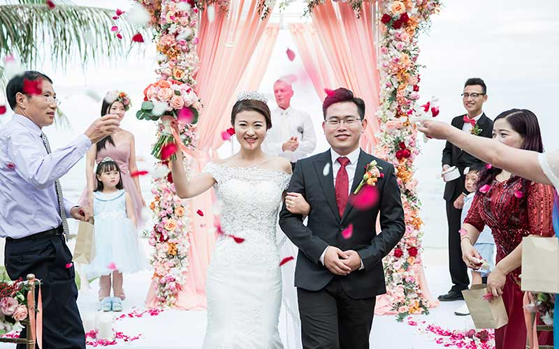 traditional modern chinese wedding phuket cape panwa 40