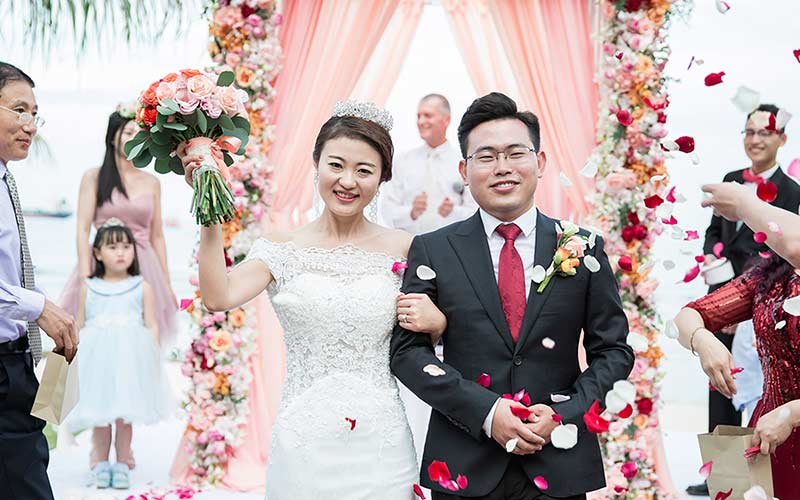 traditional modern chinese wedding phuket cape panwa 41